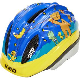 KED Meggy II Originals Lapset Pyöräilykypärä , keltainen/monivärinen